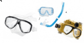 Snorkel and Scuba Masks