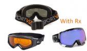 Ski and Snow Goggles Available with Prescription