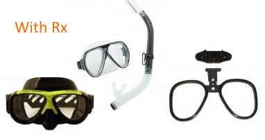 Prescription Snorkel Masks