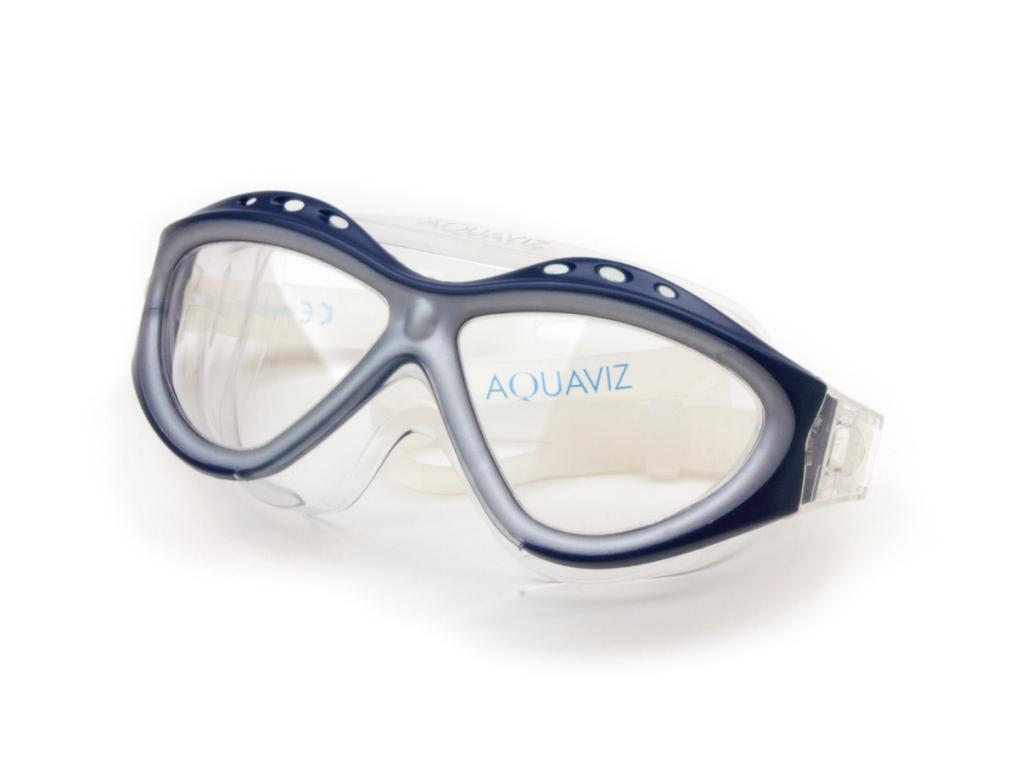 dcf07640c8a Aquaviz Swim Mask Blue-Silver ...