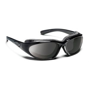 7Eye by Panoptx Bora Gloss Black/SharpView Gray Sunglasses
