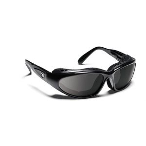 7Eye by Panoptx Cape Gloss Black/SharpView Gray Sunglasses