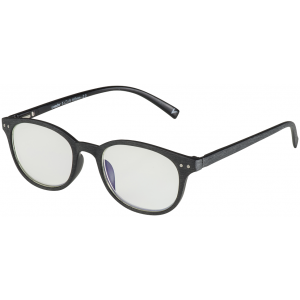 Blu-Bans Morrison Brushed Black Reading Glasses