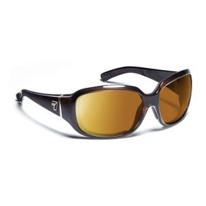 7Eye by Panoptx Mistral Crystal Chocolate/SharpView Copper Sunglasses