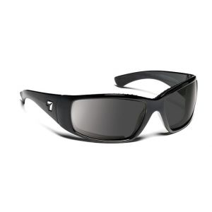 7eye by Panoptx Taku Glossy Black/SharpView Gray Sunglasses
