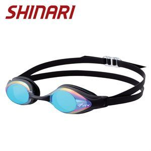 View V-130A Shinari Smoke/Blue Mirror  Swim Goggle