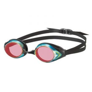 View V-200A Pirana Black/SHD Mirror Swim Goggles