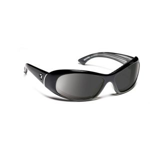 7Eye by Panoptx Zephyr Glossy Black/SharpView Gray Sunglasses