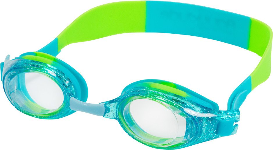92cd0b1f65 Hilco Leader Anemone Aqua-Lime Sparkle Swim Goggles ...