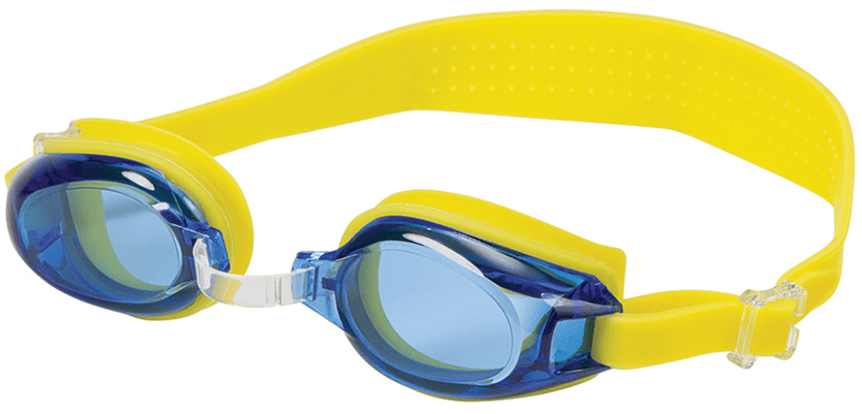 4760df61340 Hilco Leader Angelfish Yellow Blue Swim Goggles ...