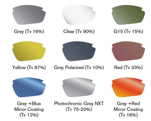 Progear lens colors