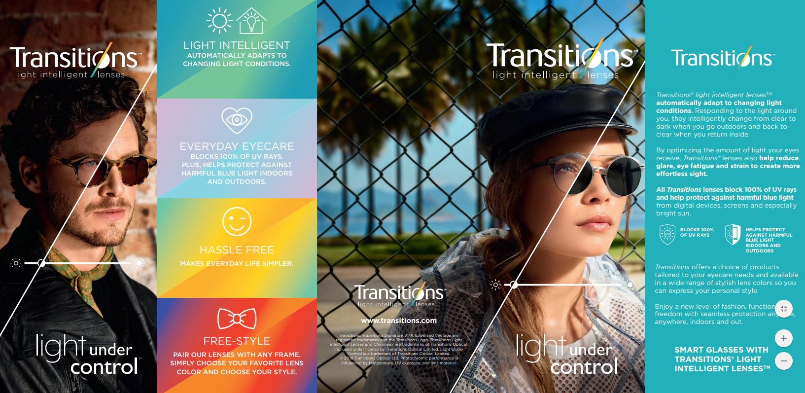 Transitions Lens options