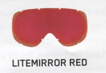 Uvex LiteMirror Red