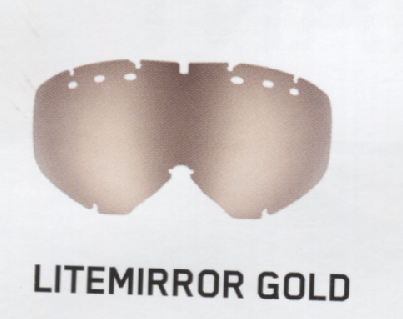 Uvex LightMirror Gold Lenses