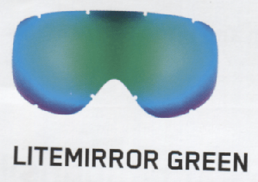 Uvex Lightmirror Green Lenses
