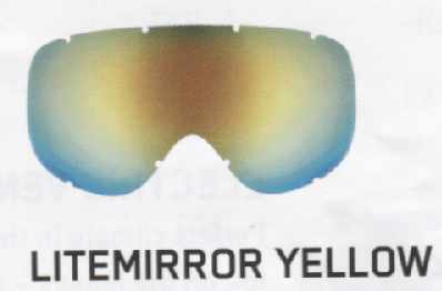 Uvex LightMirror Yellow Lenses