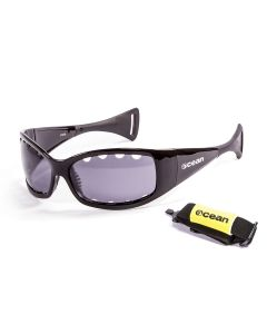 Ocean Fuenteventura Shiny Black/Polarized Smoke