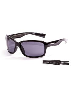 Ocean Venezia Shiny Black/Smoke Polarized