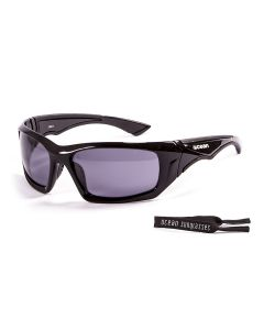 Ocean Antigua Shiny Black/Smoke Polarized