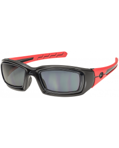 Hilco Leader Rattler Sunglasses Black-Red