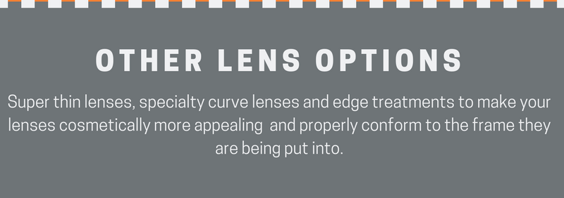 Other Prescription Lens options