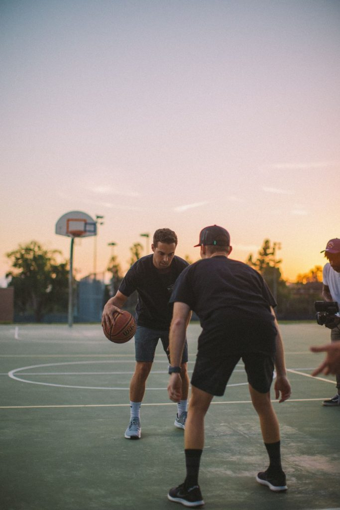 Playing without Basketball Goggles